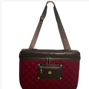 Knomo London Quilted Laptop Bag